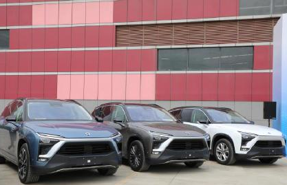 Export of the first batch of new energy used cars