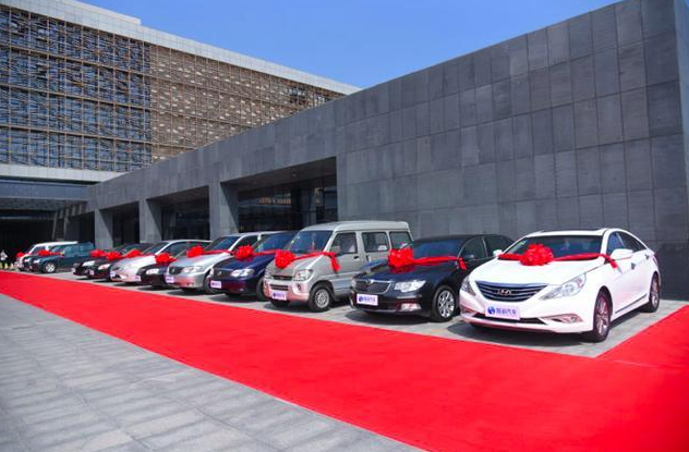 Export of used cars in Qingdao, China
