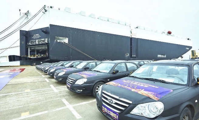 China exports second-hand cars to Africa