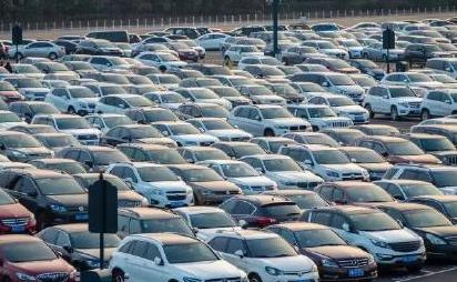 Second hand car market in China